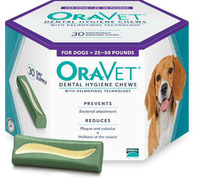 Oravet help keep plaque controlled after cleaning